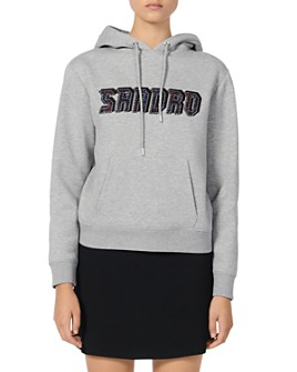 Sandro - Greyn Graphic Sweatshirt