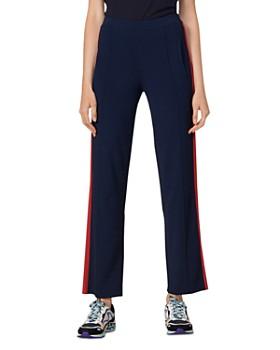 Sandro - Jog Side-Stripe Pants