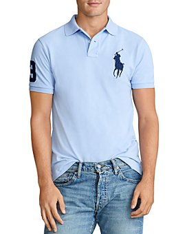 Polo Ralph Lauren - Big Pony Custom Slim Fit Mesh Polo Shirt