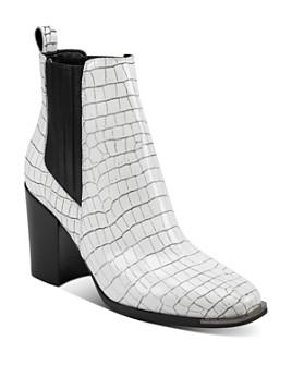 Marc Fisher LTD. - Women's Taline Croc-Embossed Booties