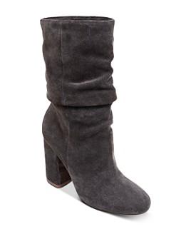 Splendid - Women's Phyllis High-Heel Slouch Boots
