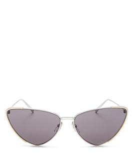 Salvatore Ferragamo - Women's Cat Eye Sunglasses, 63mm