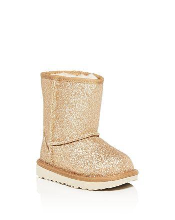 UGG® - Girls' Classic Short Glitter Boots - Walker, Toddler