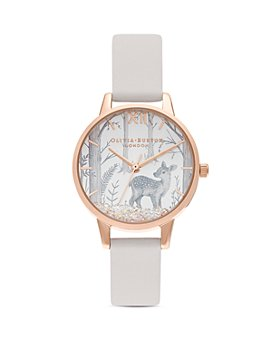 Olivia Burton - Snow Globe Vegan Strap Watch, 30mm