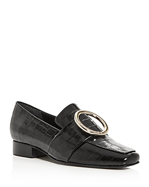 Dorateymur Women's Harput Square Apron-Toe Loafers