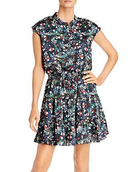 Rebecca Minkoff - Ollie Tiered Floral-Print Dress