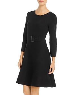 KARL LAGERFELD Paris - Buckle-Detail Dress