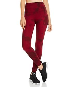 Electric & Rose - Portia Tie-Dye Twist-Cuff Leggings