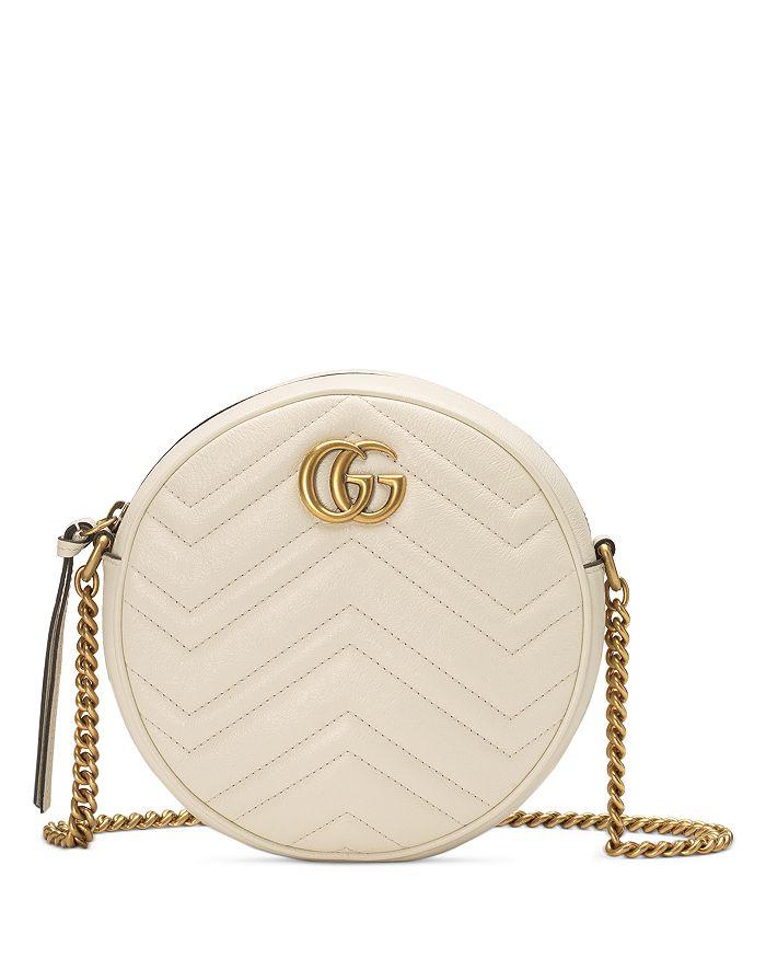 Gucci - GG Marmont Mini Round Shoulder Bag