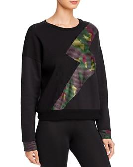 Terez - Camo Lightning Fleece Sweatshirt