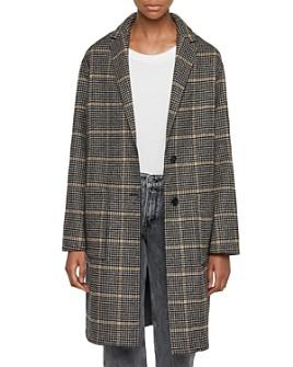 ALLSAINTS - Anya Aurora Houndstooth Coat