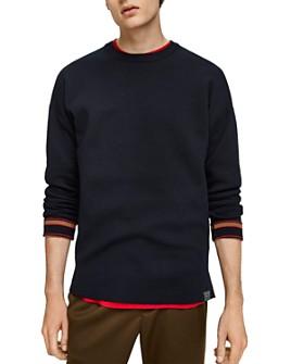 Scotch & Soda - Stripe-Cuff Sweater