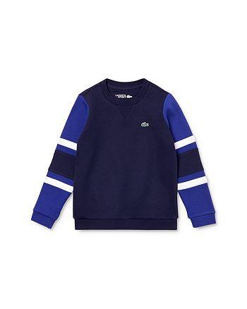 Lacoste - Boys' Color-Block Sweatshirt - Little Kid, Big Kid