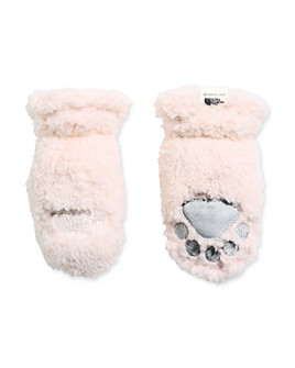 The North Face® - Girls' Sherpa Fleece Mittens - Baby