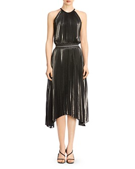 Bailey 44 - Madison Metallic Pleated Dress