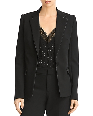 Bailey44 Blazers CAMPBELL METALLIC-TRIM BLAZER