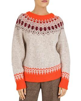 Gerard Darel - Savina Fair Isle Sweater