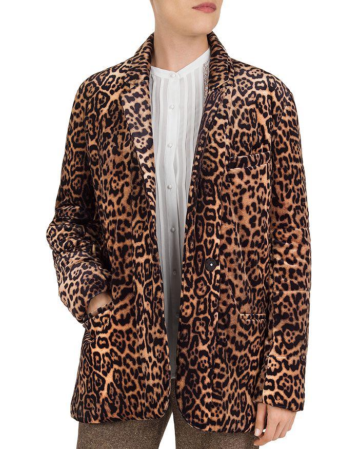 Gerard Darel - Vaira Leopard-Print Blazer
