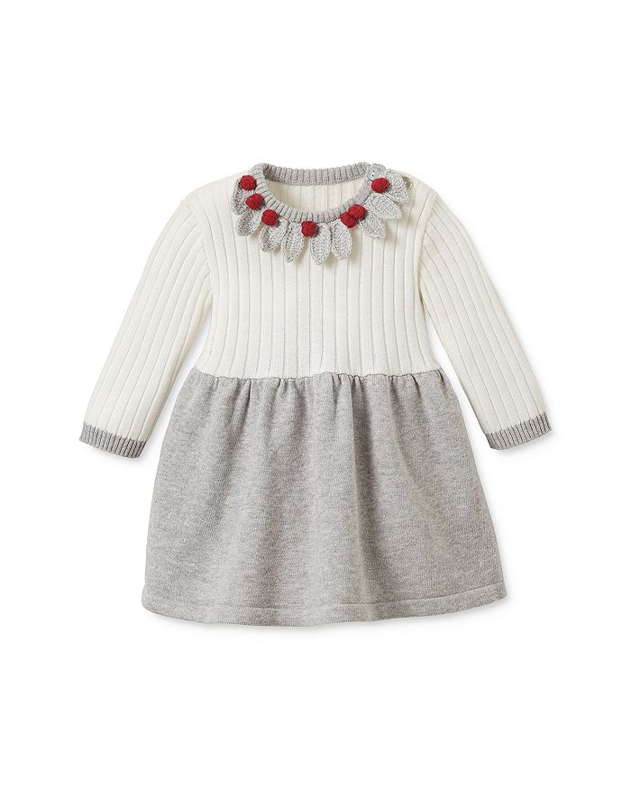 Elegant Baby - Girls' Holiday Sweater Dress - Baby