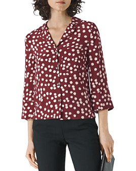 Whistles - Floral Print Button Down Shirt