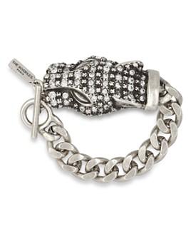 The Kooples - Pavé Leopard Toggle Bracelet