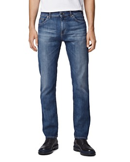 BOSS - Maine Straight Fit Jeans in Bright Blue