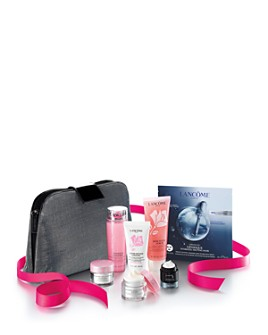 Lancôme - Holiday Skincare Essentials Kit for $45 with any Lancôme purchase (a $124 value)!