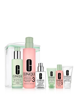 Clinique - Great Skin Anywhere Gift Set - Combination, Oily Skin ($98 value)