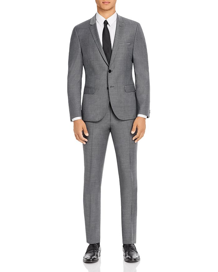 HUGO - Arti & Hesten Micro Houndstooth Extra Slim Fit Suit Separates