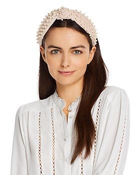 Lele Sadoughi - Pearl Knot Headband
