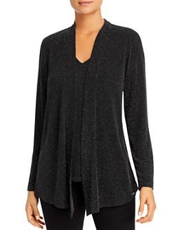 Calvin Klein - Metallic Layered-Look Sweater
