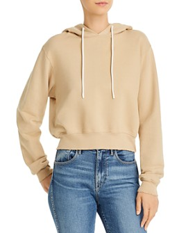Cotton Citizen - Milan Cropped Hooded Sweatshirt
