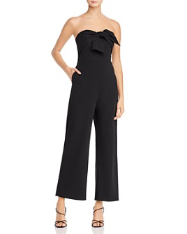 Sam Edelman - Strapless Jumpsuit with Bow Detail