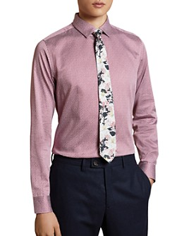 Ted Baker - Blolet Geo Print Slim Fit Button-Down Shirt - 100% Exclusive