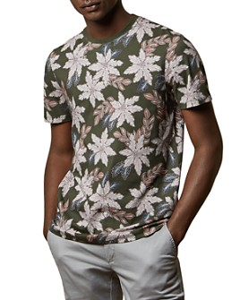 Ted Baker - PerII Floral Print Tee - 100% Exclusive