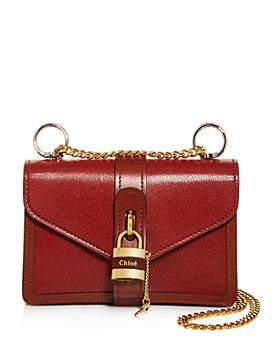 Chloé - Aby Mini Leather Shoulder Bag