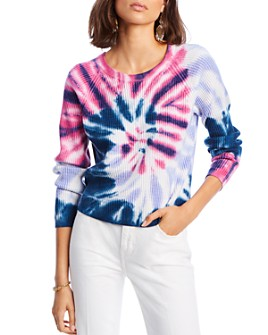 LINI - Hailey Tie-Dye Cable-Knit Sweater - 100% Exclusive