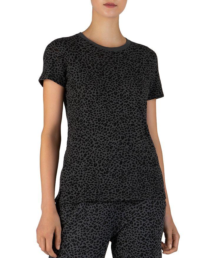 ATM Anthony Thomas Melillo - Mini Leopard Print Slub-Knit Tee
