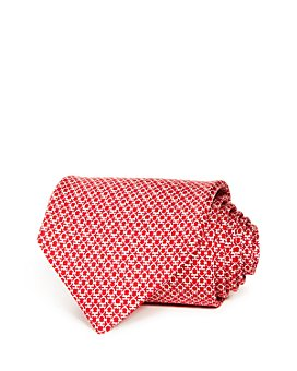 Salvatore Ferragamo - Mini Linked Gancini Silk Classic Tie