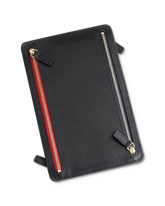 ROYCE New York - Leather RFID Blocking Travel Organizer
