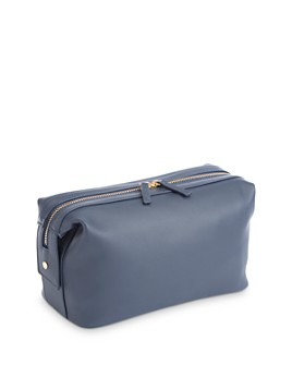 ROYCE New York - Executive Leather Toiletry Bag
