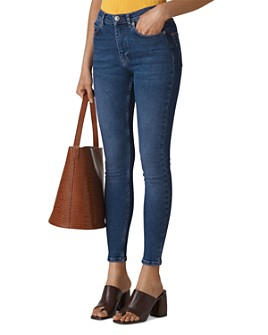 Whistles - Sculptured Skinny Ankle Jeans
