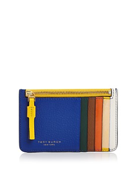Tory Burch - Perry Color-Block Card Case