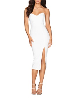 Nookie - Bella Strapless Midi Dress