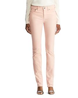 Ralph Lauren - Premier Straight Corduroy Pants in Winter Rose