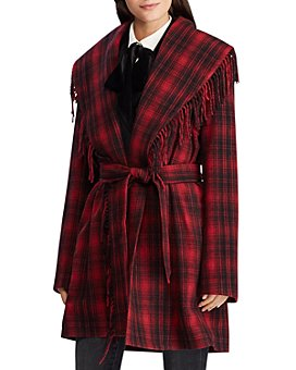 Ralph Lauren - Plaid Wrap Coat