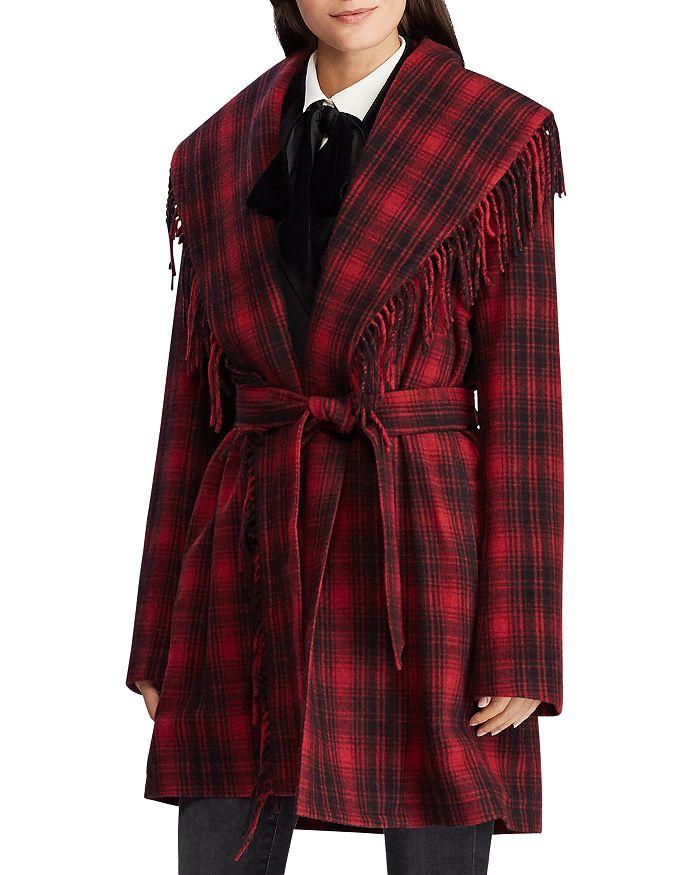 Ralph Lauren - Plaid Wrap Coat