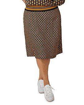 Maree Pour Toi Plus - Geo-Print Skirt