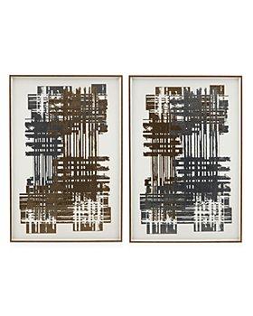 Bassett Mirror - Multi Foil Matrix Wall Art Collection