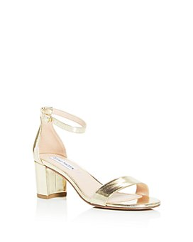 STEVE MADDEN - Girls' JCarrson Block-Heel Sandals - Little Kid, Big Kid